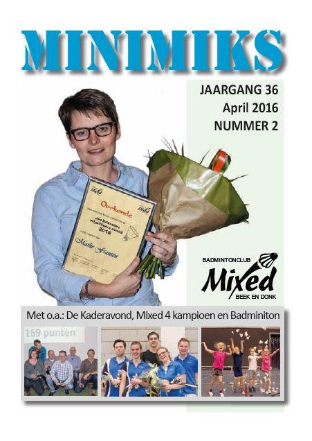 Clubblad april 2016
