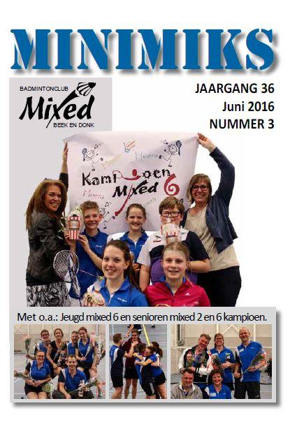 Clubblad juni 2016