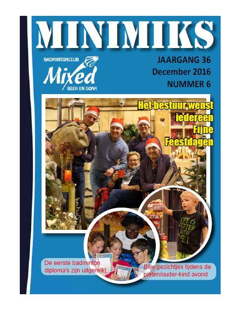 Clubblad december 2016