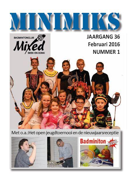 Clubblad februari 2016