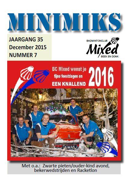 Clubblad december 2015