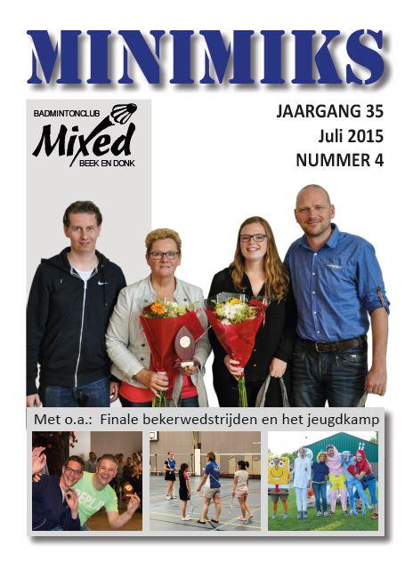 Clubblad juli 2015