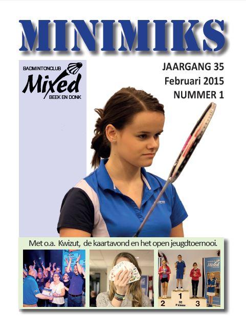 Clubblad februari 2015