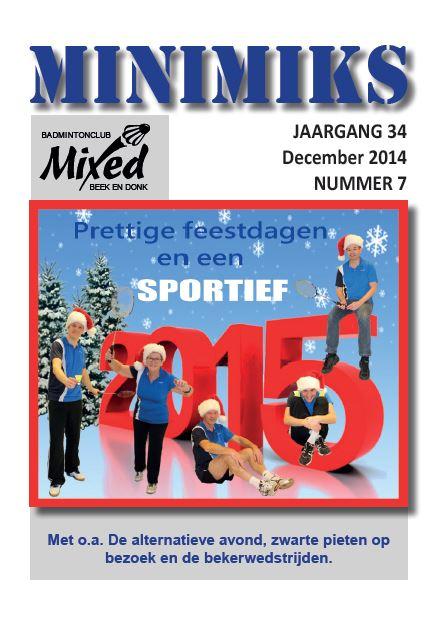 Clubblad december 2014