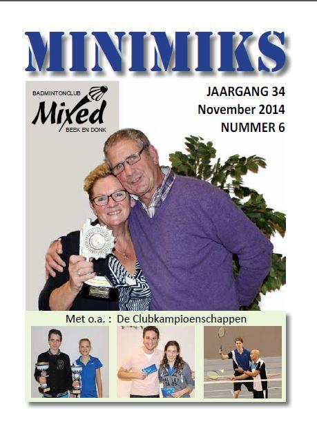 Clubblad november 2014