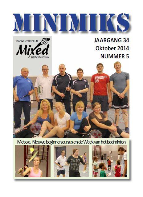 Clubblad oktober 2014