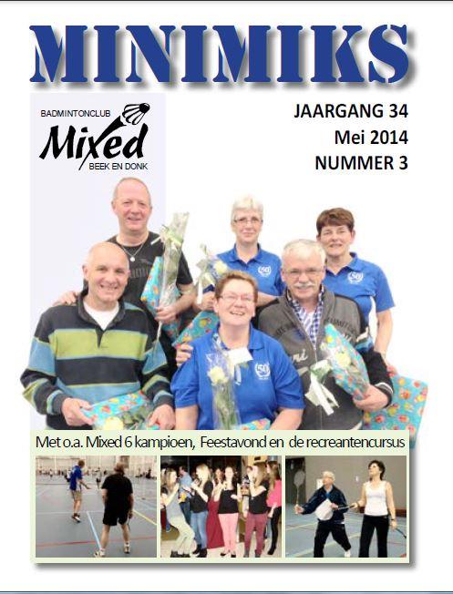Clubblad mei 2014