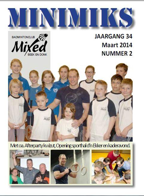 Clubblad maart 2014