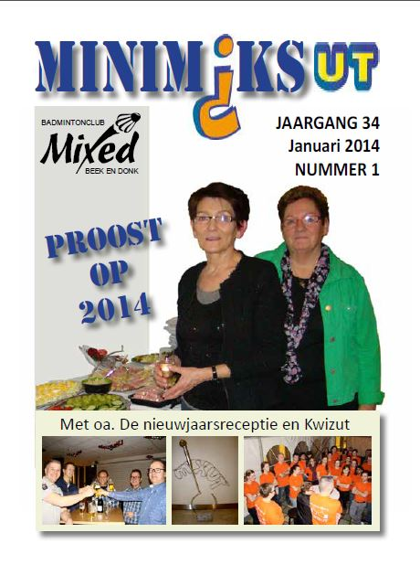 Clubblad januari 2014