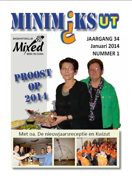Clubblad januari 2014