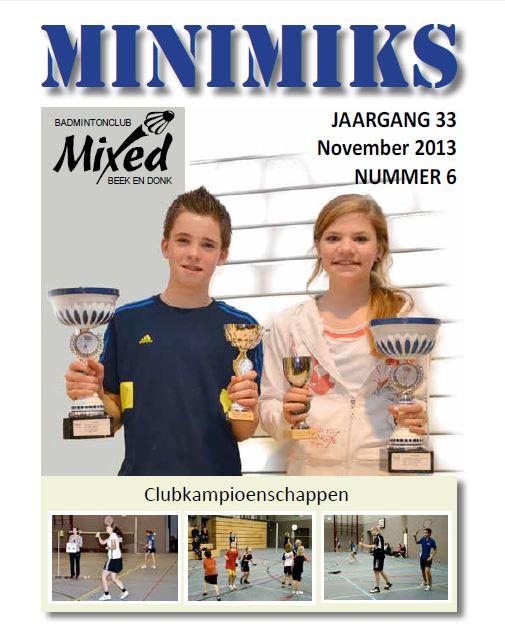 Clubblad november 2013