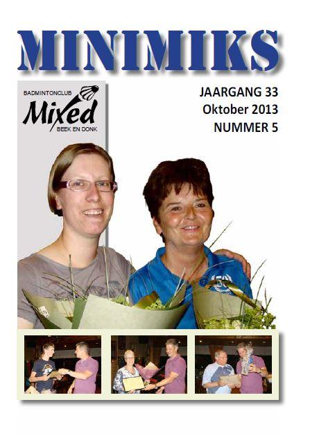 Clubblad oktober 2013