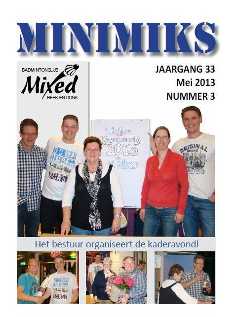 Clubblad mei 2013