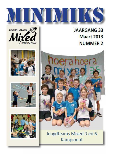 Clubblad maart 2013