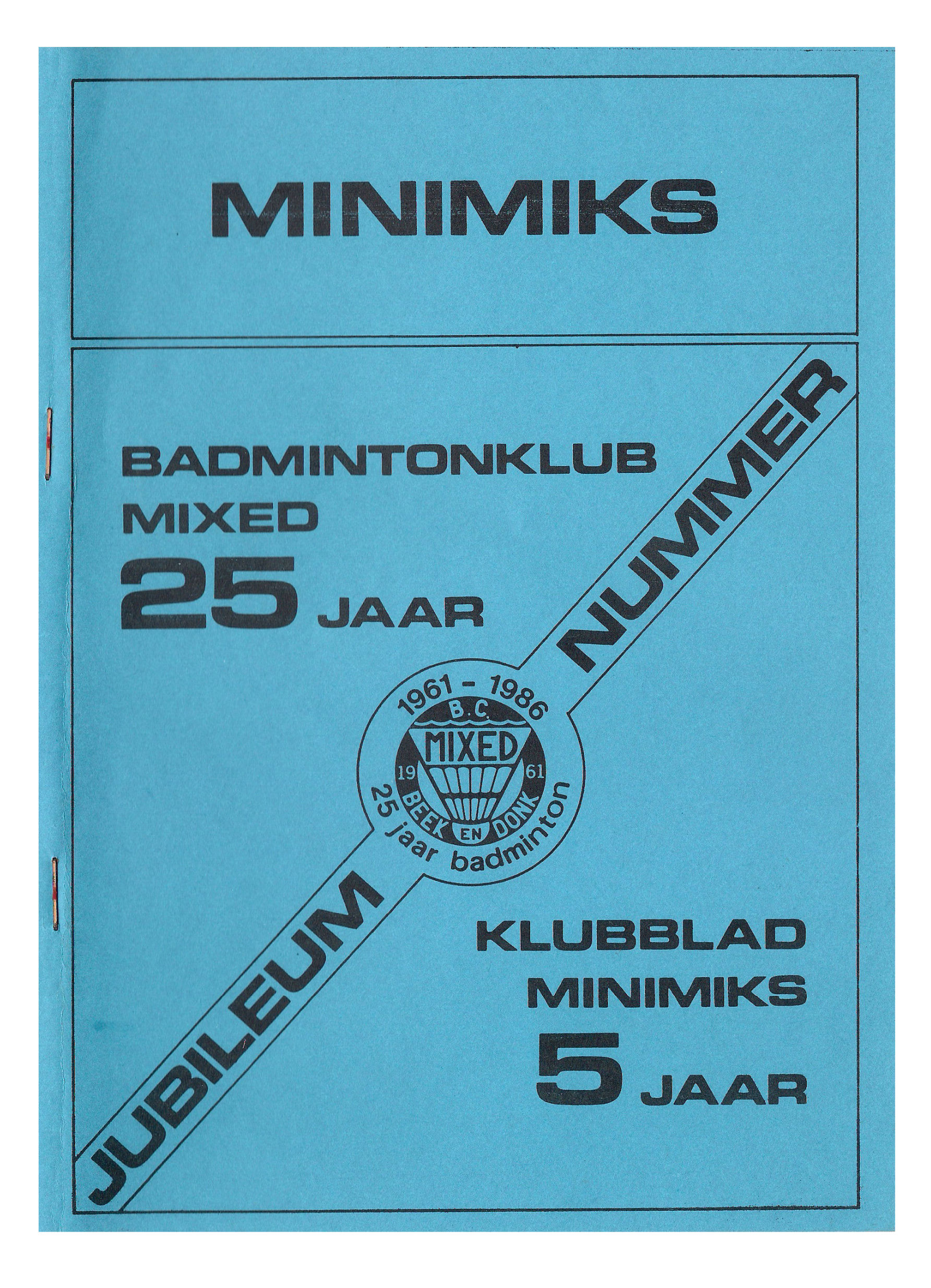 Clubblad januari 1986