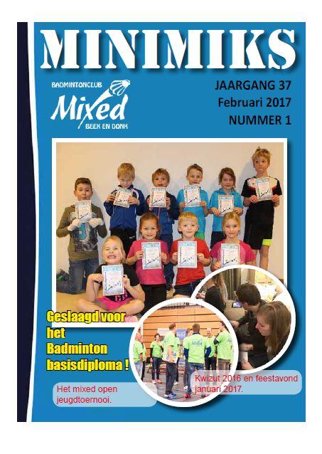 Clubblad februari 2017