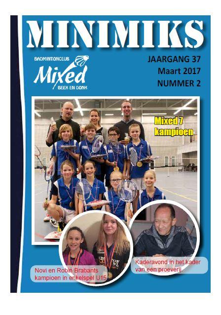 Clubblad maart 2017