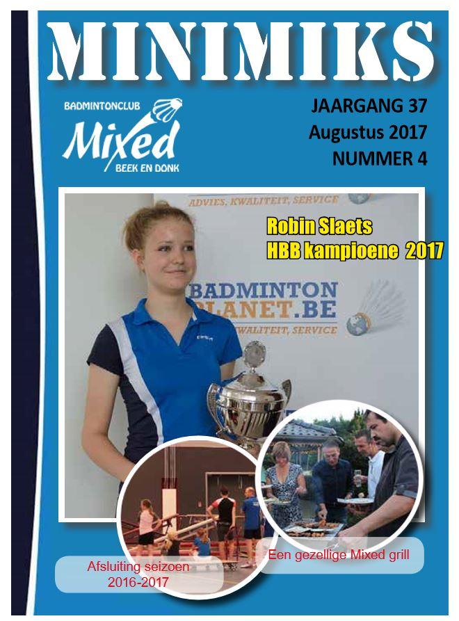 Clubblad augustus 2017