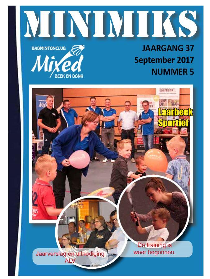 Clubblad september 2017