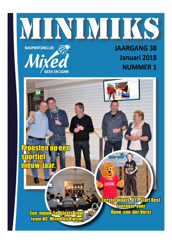 Clubblad januari 2018