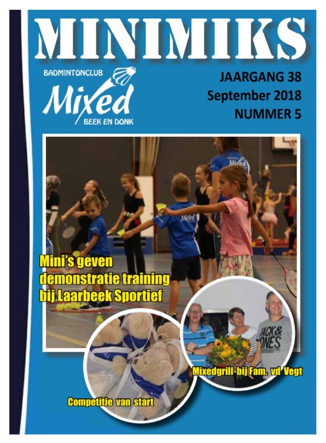 Clubblad september 2018