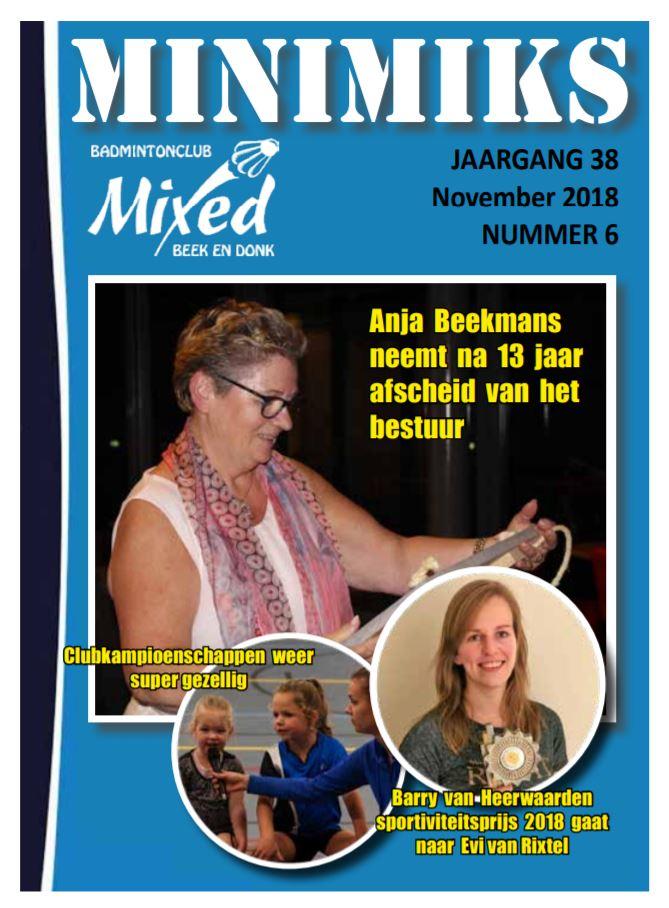 Clubblad november 2018