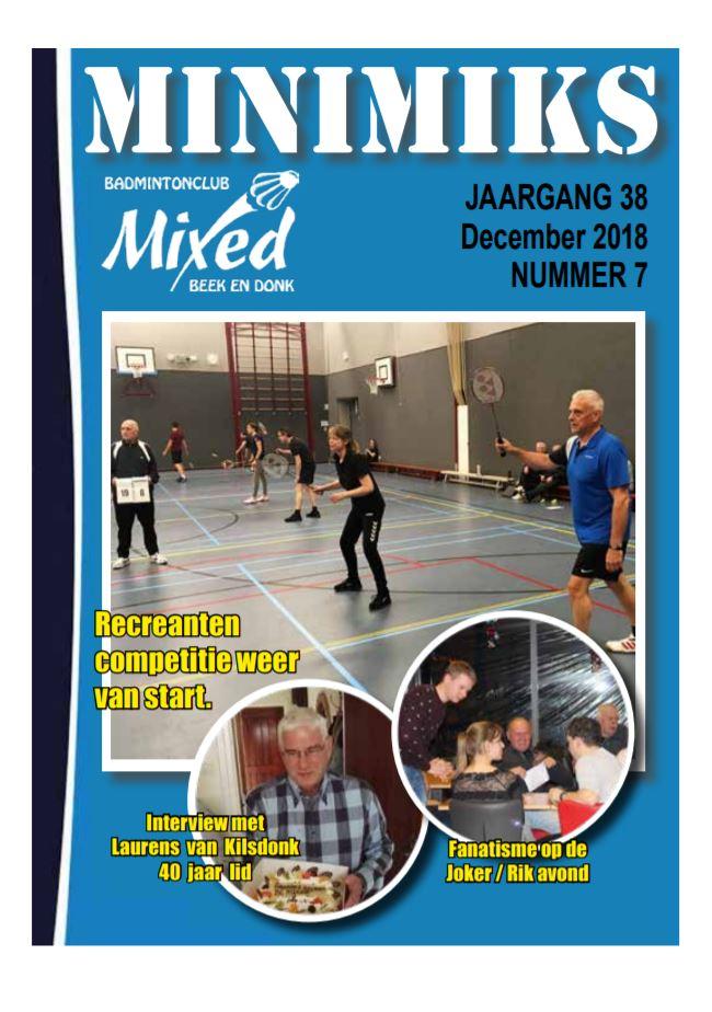 Clubblad december 2018