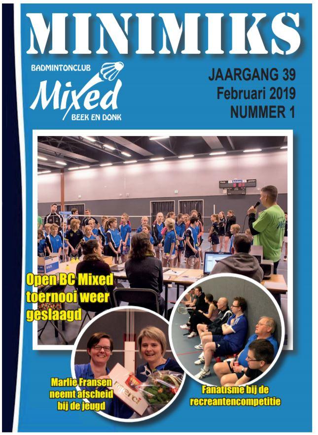 Clubblad februari 2019