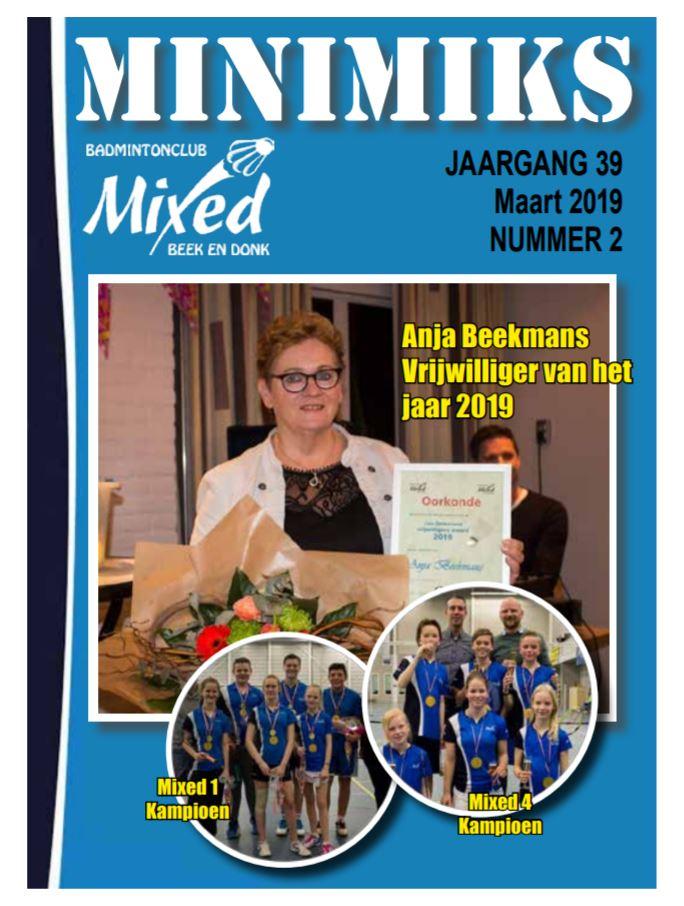 Clubblad maart 2019