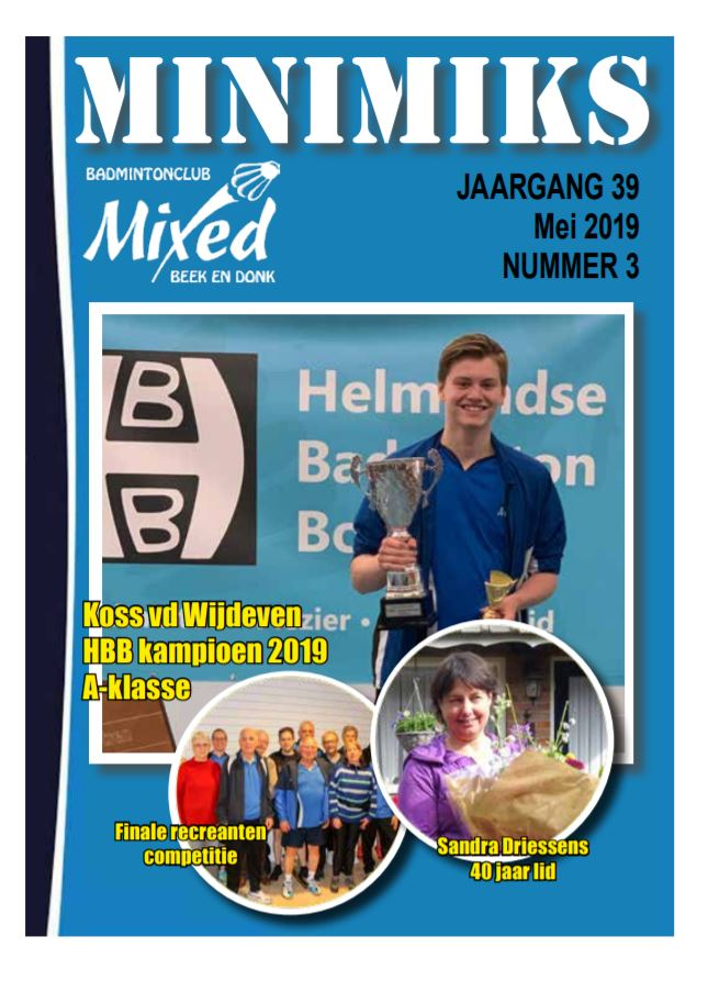 Clubblad mei 2019