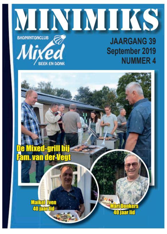Clubblad september 2019