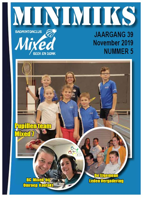 Clubblad november 2019