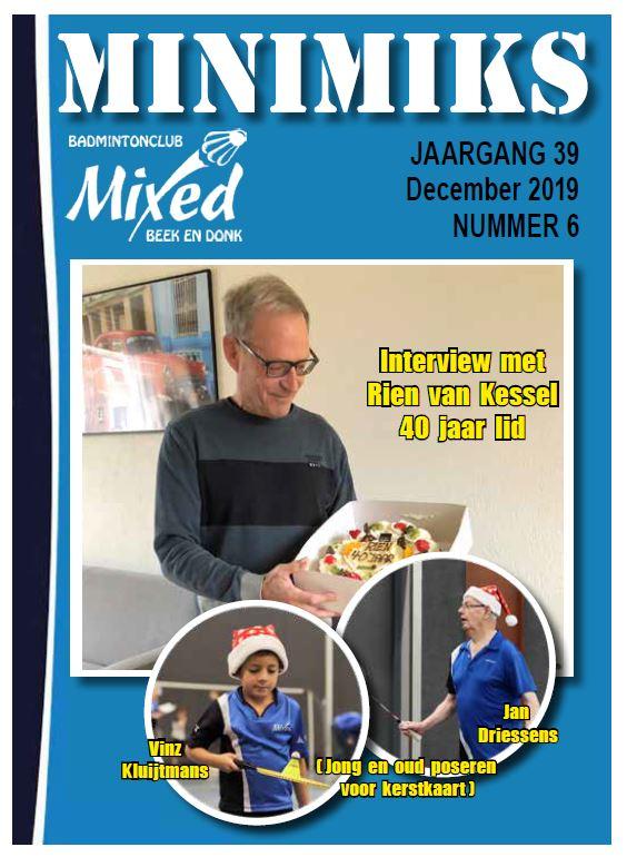 Clubblad december 2019