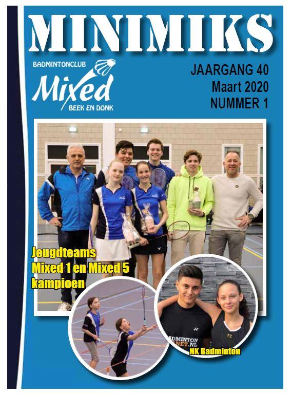 Clubblad maart 2020