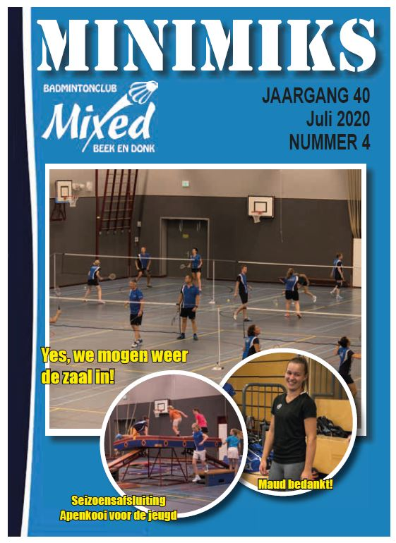 Clubblad juli 2020