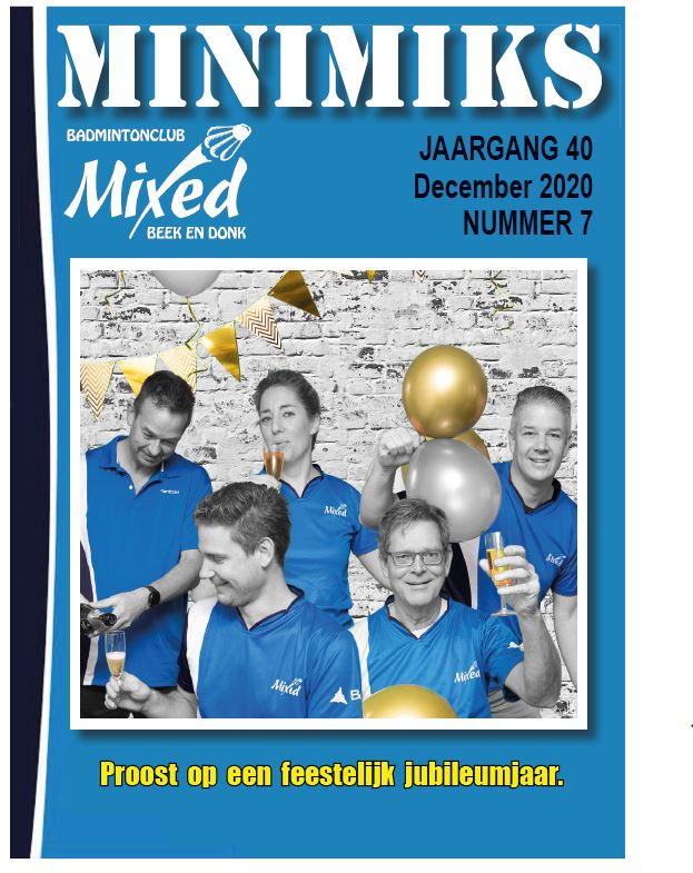 Clubblad december 2020